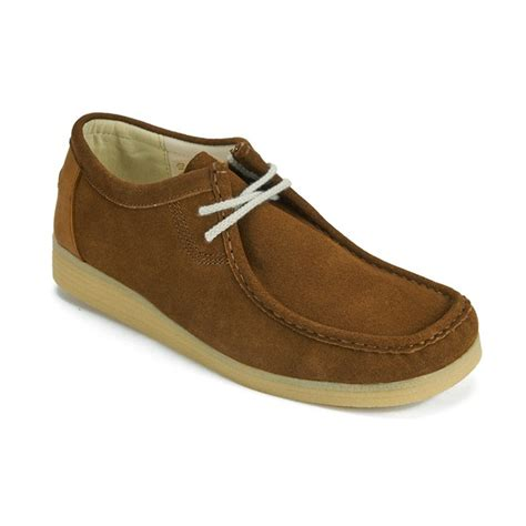 wallaby shoes kickers s dinku suede wallaby shoes clothing zavvi