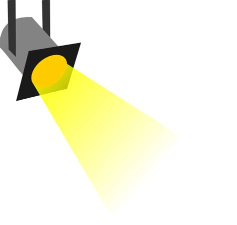 Spot Light Clip Art At Clker Com Vector Clip Art Online Animated Lights Clipart