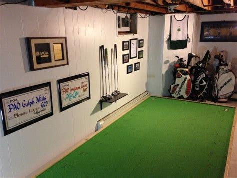 tutorial    build  indoor putting green great