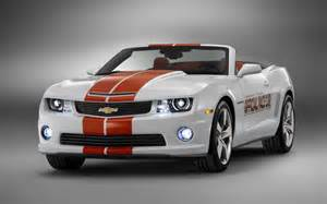 2011 chevrolet camaro ss convertible picked as indy 500