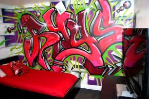 bedroom graffiti room graffiti design modern diy art designs
