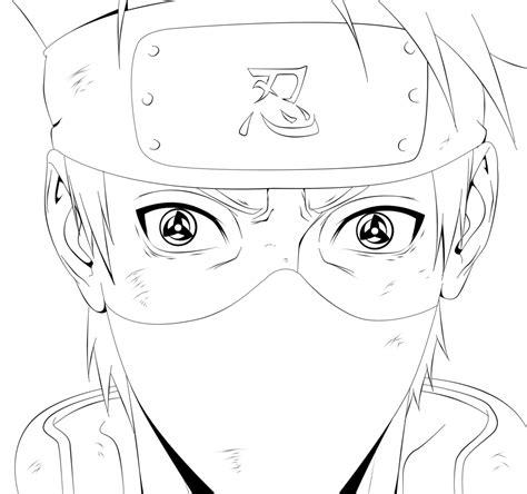 naruto coloring pages kakashi naruto coloring pages kakashi freecoloring4u com