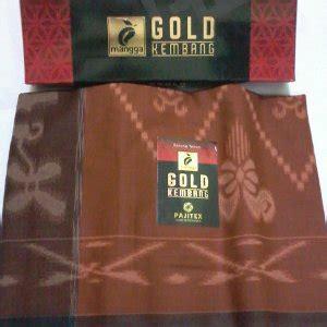 Sarung Tenun Hunyur Corak Kembang jual sarung mangga gold kembang gold motif kembang