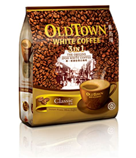 oldtown white coffee 3 in 1 classic white coffee white