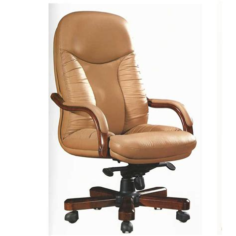 chair model rf 521a high back genuine leather chair