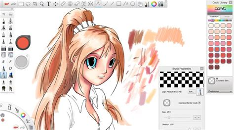 sketchbook pro copic raul s following digital tutors tutorial on