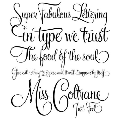 free tattoo fonts volstead elegant handwriting font free font love baby pinterest