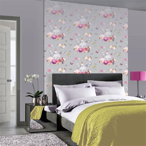 schlafzimmer lila rosa deko ideen