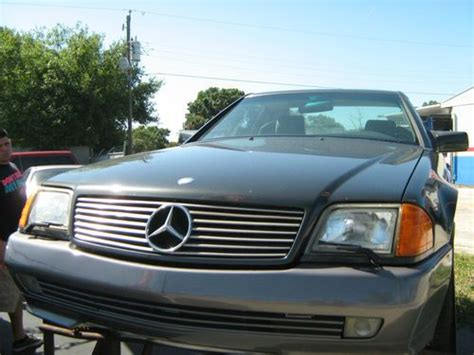 auto air conditioning service 1993 mercedes benz 300sl lane departure warning buy used 1993 mercedes benz 300sl base convertible 2 door 3 0l in fort myers florida united states