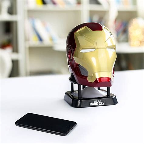 Speaker Bluetooth Iron marvel iron 46 bluetooth mini speaker