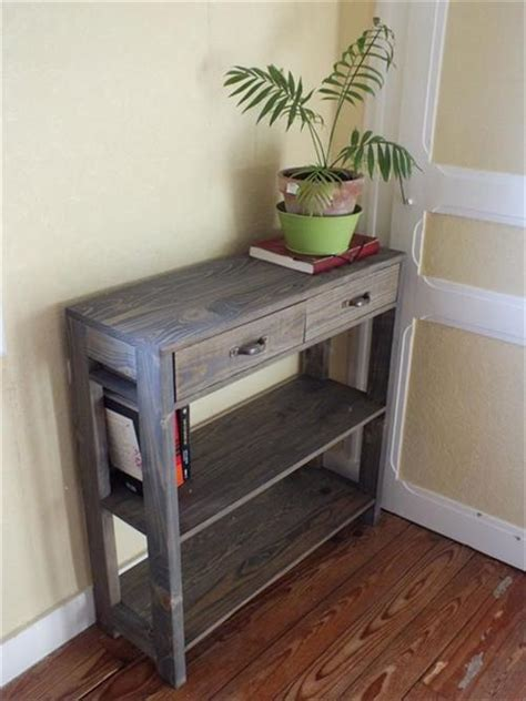 amazing wooden pallet entryway table pallets designs