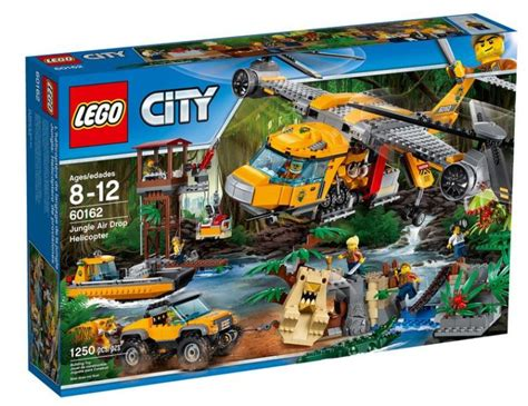 Lego City Helicopter And Robert lego city dschungel expedition mega set 60162 im detail