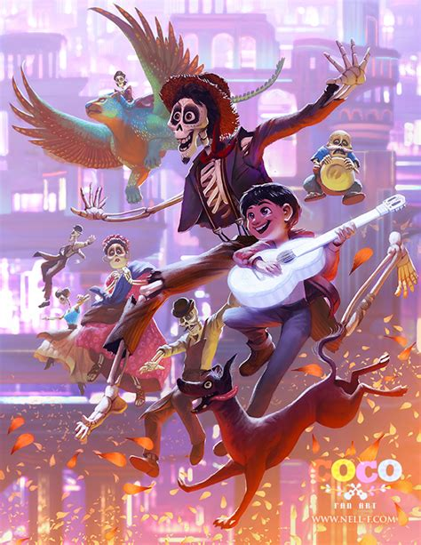 coco art coco by nell fallcard on deviantart