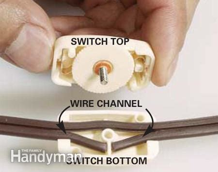 how to install an in line cord switch the family handyman