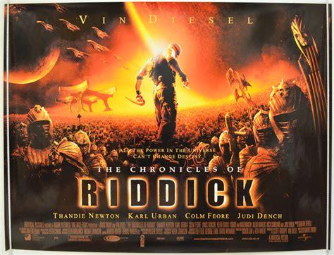 Dvd Original Sale Riddick chronicles of riddick the original cinema poster from pastposters
