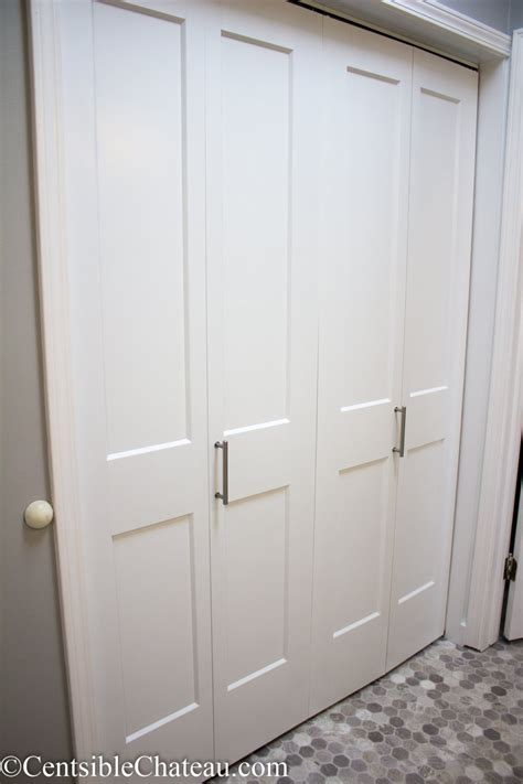 install bifold closet door how to easily install bi fold closet doors in your closet