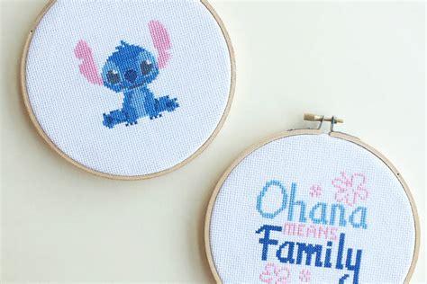 pattern stitch meaning lilo stitch cross stitch disney family