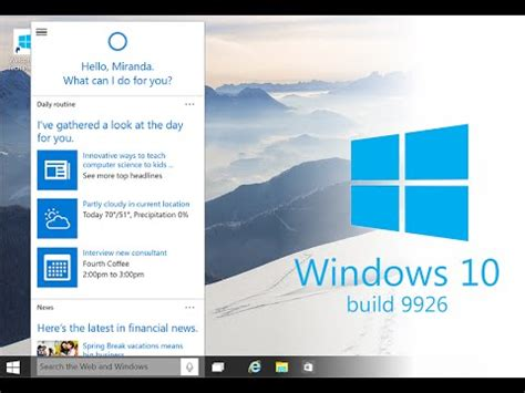 tutorial windows 10 technical preview full download windows 10 technical preview key features