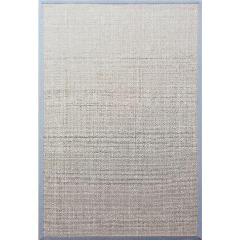 sisal rug with blue border blue border rug rugs ideas