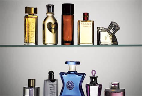 Shelf Of Perfume by Sensitivity To Perfume Smells Science Of Perfume And Memory