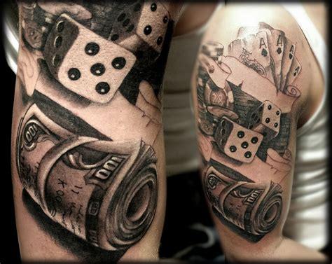 casino tattoos tatuaje real realismo realistic realista