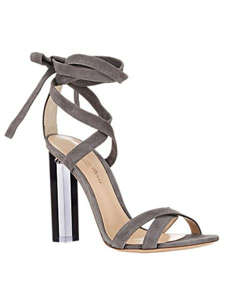 lucite high heels gianvito lucite heel ankle tie sandals shoes post