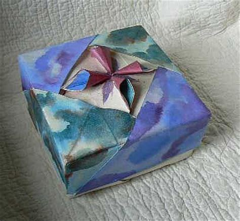 Origami Necklace Box - pin by kidwell on orgami