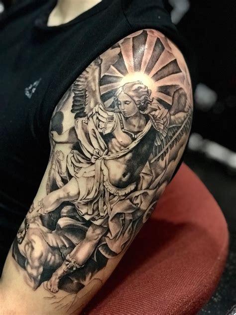 san miguel tattoo san miguel arcangel bae san miguel