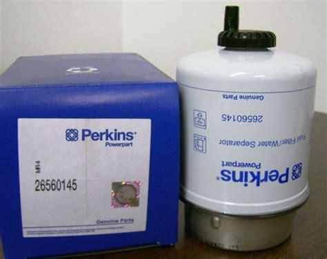 Filter Solar Perkins 26560145 perkins pre fuel filter 26560145 parts diesel engine fuel commercial construction