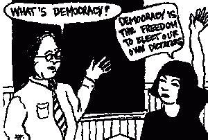 minimalist definition of democracy week 4 democracy and democratisation patan5uk