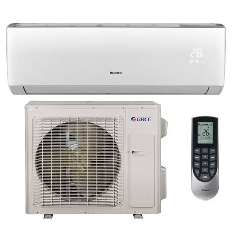 gree multi 21 zone 18 000 btu 1 5 ton ductless mini split