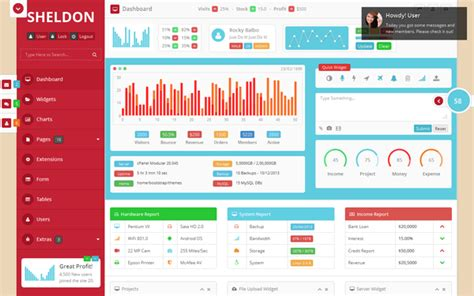 bootstrap weather template sheldon awesome bootstrap theme admin dashboards