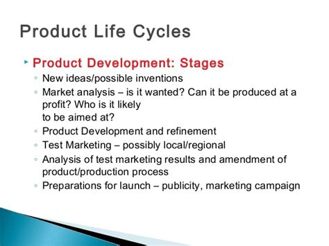 Mba Plc by Product Cycle Plc Boston Consultancy Bcg