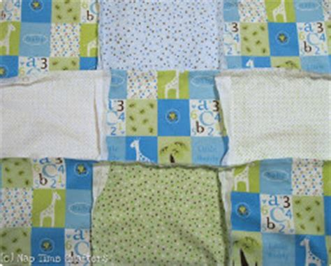 Pattern For Baby Rag Quilt With Flannel by Magical Flannel Rag Baby Quilt Tutorial Favequilts