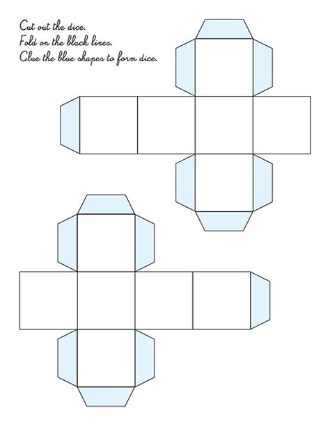 printable blank dice www imgkid com the image kid has it