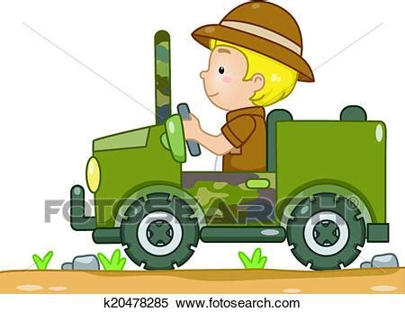 safari jeep drawing clipart of safari jeep k20478285 search clip