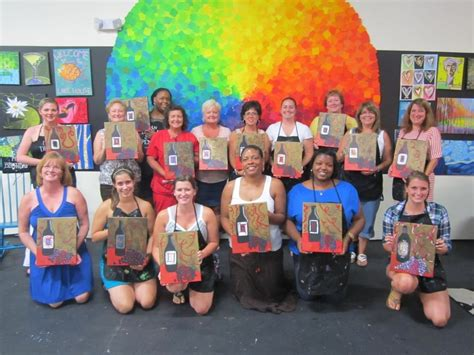 acrylic painting classes jacksonville fl spirited wine painting out