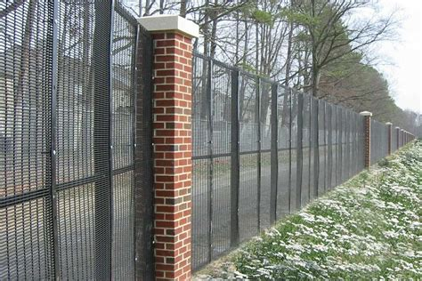 security fence welded security fencing steellong wire