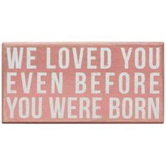 i loved you before you were born board book a letter from books we loved you even before you were born on