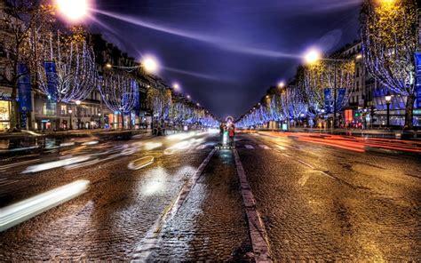 wallpaper anak jalanan hd gambar jalanan kota di malam hari