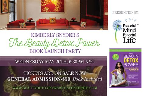 The Detox Power Book by You Re Invited Join Me For My Nyc Detox Power