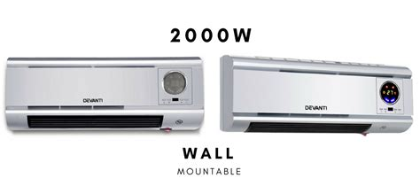 electric space wall mount heater metal room convection