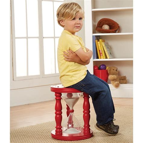 Toddler Time Out Chair by Time Out Hourglass Stool Or Chair 14 Quot With Sand