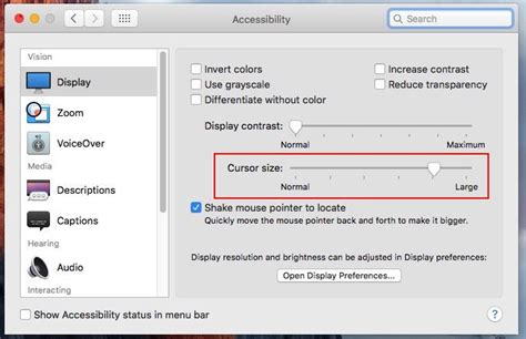 Part 3 Of 3 Switching To A Mac by How To Change Cursor Size On Mac Os X Resize Mouse Pointer