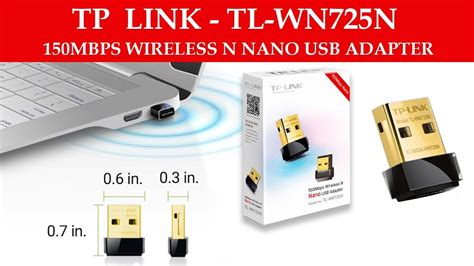 Wireless N Nano Usb Adapter tp link 150mbps wireless n nano usb adapter unboxing