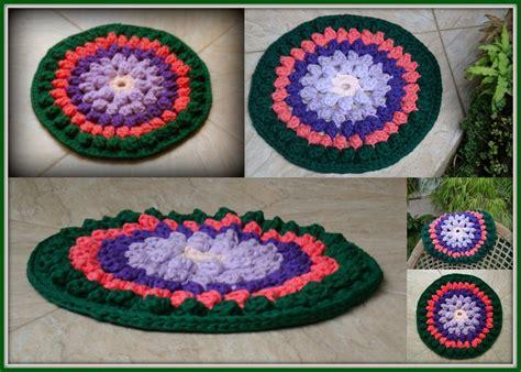 tapete croche on pinterest throw rugs crochet rugs and tapete de 31 best tapetes de trapilho images on pinterest crochet