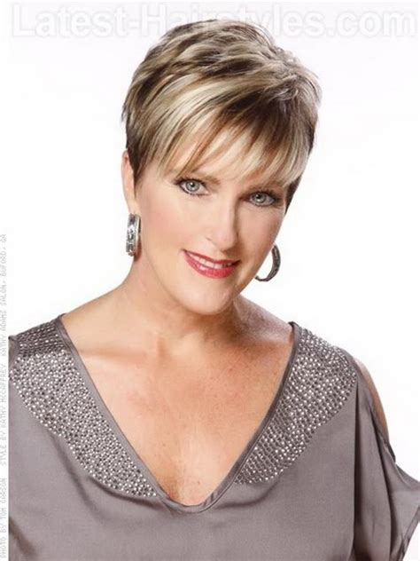 short cropped hairstyles over 50 pixie haircut for older women