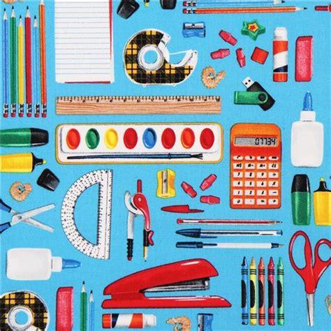 school for upholstery tissu timeless treasures bleu avec des fournitures