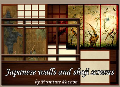 japanese walls second life marketplace japanese walls and shoji screens