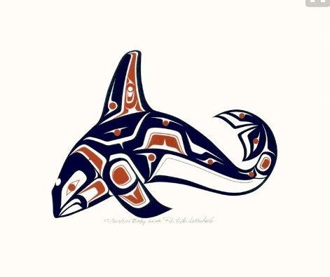 west coast native tattoo designs pin by david umphenour on hiada west coastal